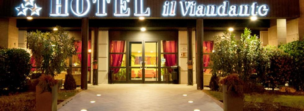 Hotelil Viandante ingresso