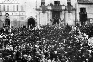 Foto storica della festa del Perdono