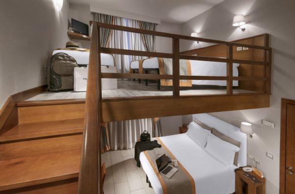 Family room con soppalco - hotelilviandante.it
